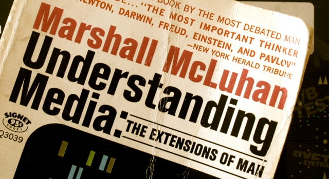 the extension of man by marshall mcluhan essay Read this essay on discuss the marshall mcluhan's proposition of 'extensions' and 'amputations' in relation to a new technological development in television.